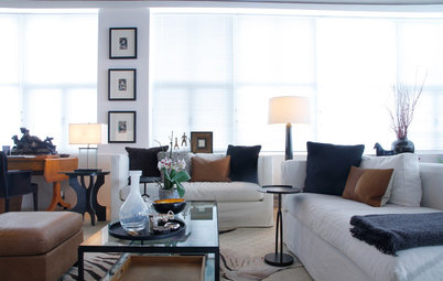 My Houzz: Open-Plan Living in a Converted Shoe-Factory Condo