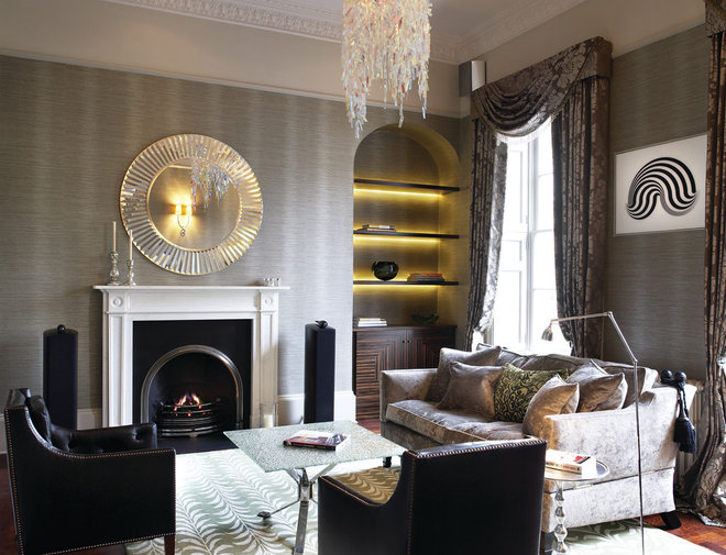 Contemporary Living Room by Inspired Interiors