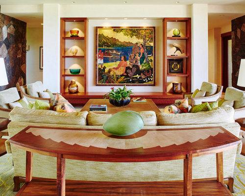 deaeda  w h b p tropical living room: tropical living rooms