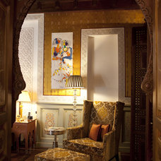 Mediterranean Living Room by OBM International