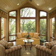 Traditional Living Room by Kieran J. Liebl,  Royal Oaks Design, Inc. MN