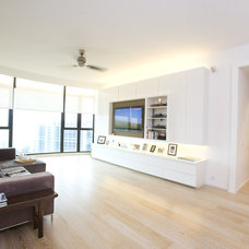 Contemporary Living Room by Clifton Leung Design Workshop - CLDW.com.hk