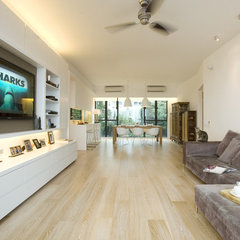 contemporary living room by Clifton Leung Design Workshop