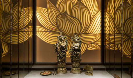 6 Beautiful Ways to Light Your Puja Room