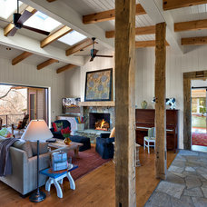 Traditional Living Room by Platt Architecture, PA