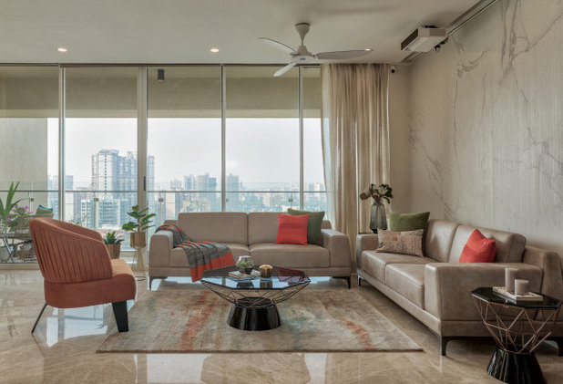 Contemporary Living Room by The Design House Company