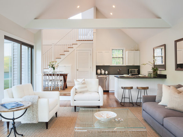 Traditional Living Room by Sophie Metz Design