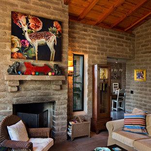 Idee per un piccolo soggiorno stile americano