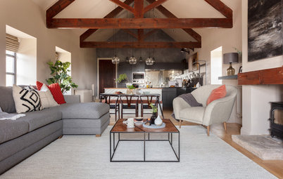 UK Houzz Tour: A Converted Barn Gets an Industrial Makeover