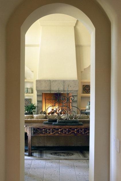 Traditional Living Room by David Michael Miller Associates