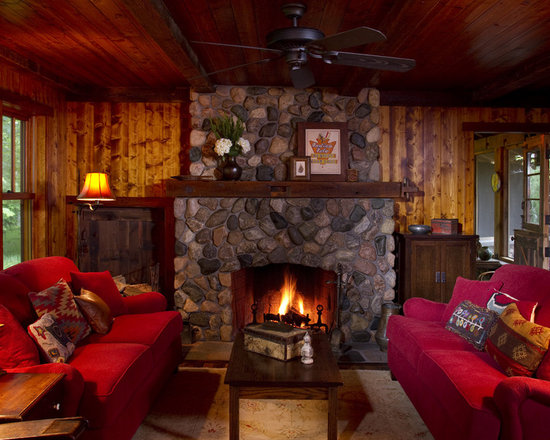 Cozy Living Room With Fireplace cozy living room | houzz