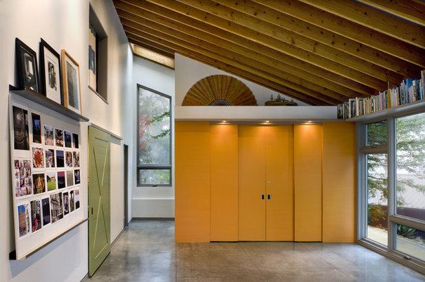 Contemporáneo Salón by Cathy Schwabe Architecture
