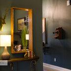 Montpelier Log Cabin Rustic Living Room Richmond