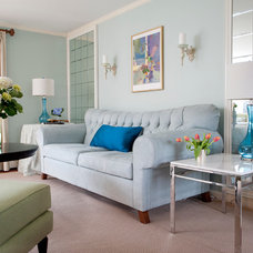 Eclectic Living Room by Christina Marie Interiors