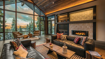 Rustic Contemporary Ski Lodge