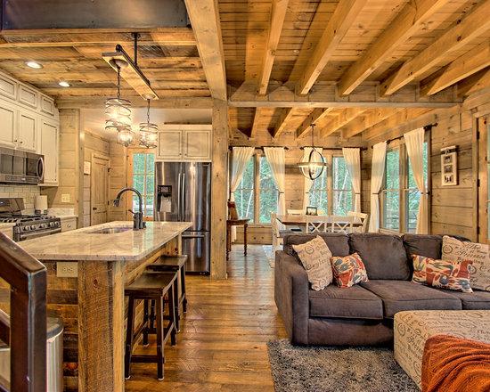 Rustic Living Room Design Ideas Remodels Photos