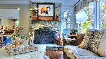 Rustic Double Living Room