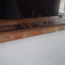 Rustic Fireplace Mantels - Reclaimed Fireplace Mantle
