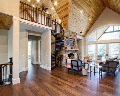 Elegant Save. Rustic Forged Iron Spiral Staircase