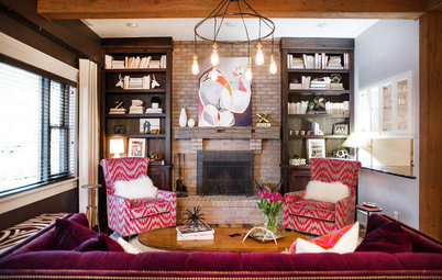 New This Week: 3 Ways to Work Around a Living Room Fireplace