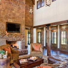 Contemporary Living Room by Vanguard Studio Inc.