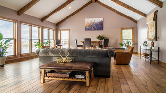 Rustic Home: hardwood flooring that removed health issues