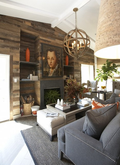 Contemporary Living Room by Dallas Renovation Group
