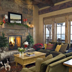 eclectic living room by Design Associates - Lynette Zambon, Carol Merica