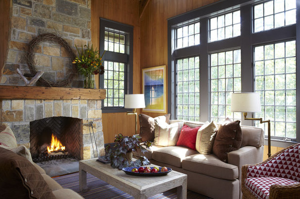 rustic living room rustic living room - Ideas For Living Room Furniture Layout