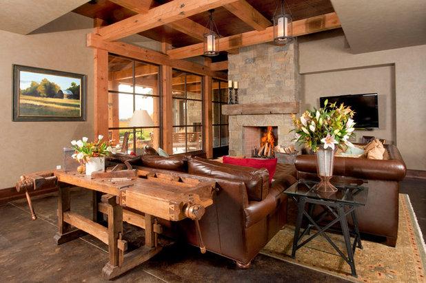 Rustikaler charme werkb nke erobern den wohnraum for Modern rustikal einrichten