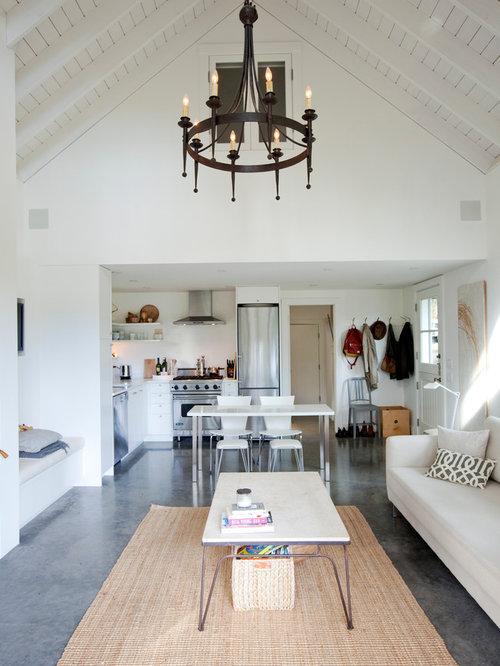 Houzz Cottage Living Room: Cottage Great Room