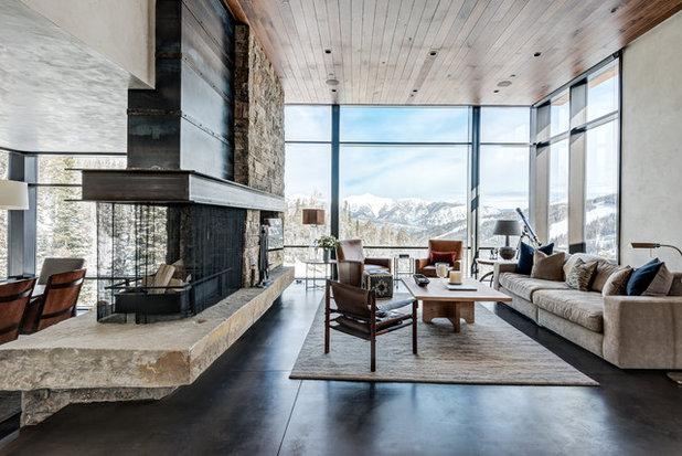 Rústico Salón Rustic Living Room