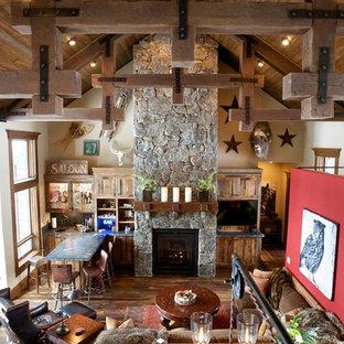 Offenes Uriges Wohnzimmer in Boise