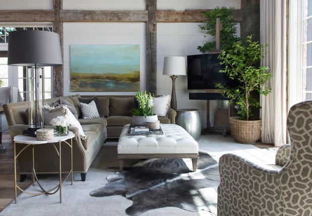 Rustik Vardagsrum Rustic Living Room