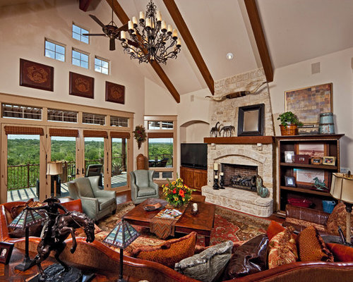 Southwest Living Room Houzz