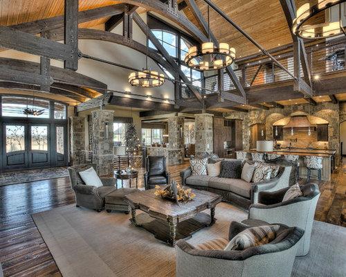 Country Living Room Design Ideas Renovations Photos