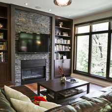 contemporary living room by BiglarKinyan Design Partnership Inc.