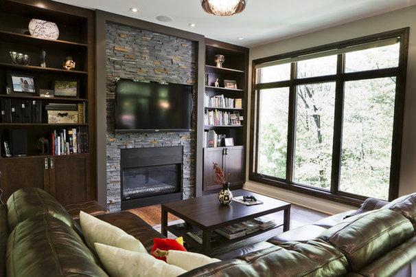 Contemporary Living Room by BiglarKinyan Design Planning Inc.