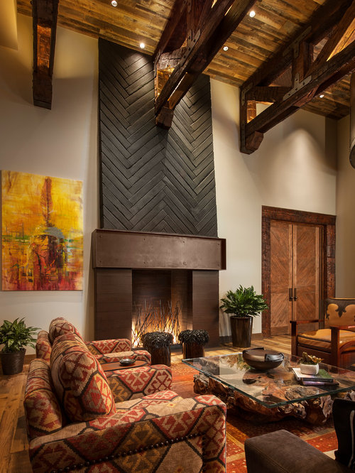 southwestern living room design ideas remodels photos houzz