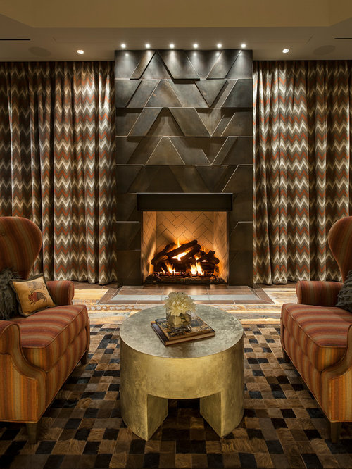 SaveEmail - Southwestern Living Room Design Ideas, Remodels & Photos Houzz