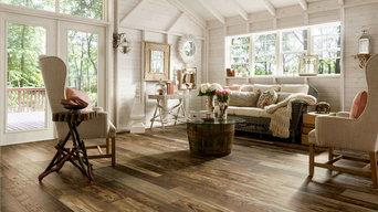 Rustic Shabby Chic Wood Laminate Flooring
