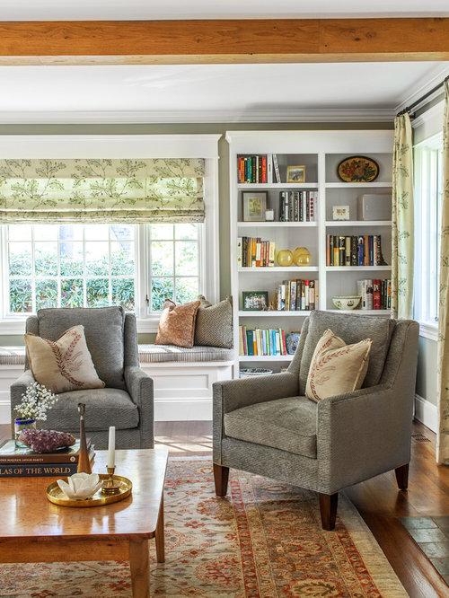 Elegant Formal Living Room Photo In New York