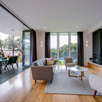 Brighton Residence Contemporary Living Room Melbourne By Chan Architecture Pty Ltd