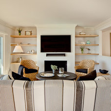 Beach Style Living Room by Bowley Builders