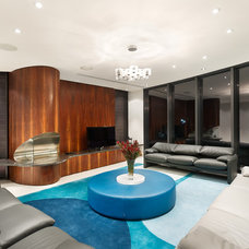 Contemporary Living Room by Matthew Mallett Photography