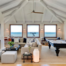 Beach Style Living Room by foley&cox