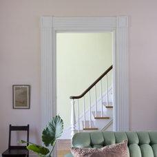 Traditional Living Room by Gary Cruz Studio