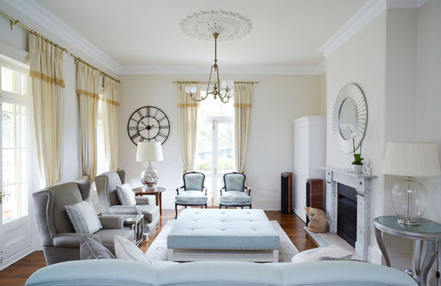 Contemporary Living Room by Ann King Design