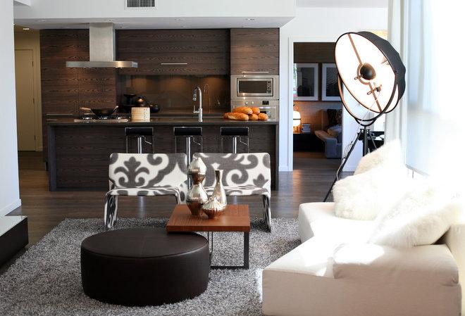 Modern Living Room by kodu design