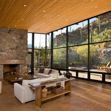 Contemporary Living Room by Mark Alan Development, LLC
